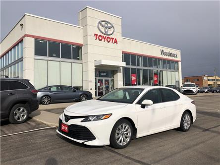 2018 Toyota Camry LE (Stk: 1998) in Woodstock - Image 1 of 23