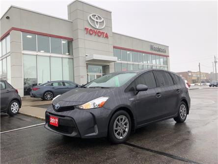 2017 Toyota Prius v Base (Stk: 908449A) in Woodstock - Image 1 of 25