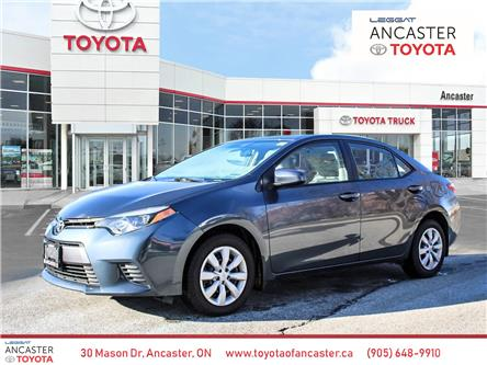 2016 Toyota Corolla LE (Stk: 4096) in Ancaster - Image 1 of 18