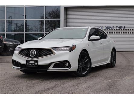 2018 Acura TLX Tech A-Spec (Stk: P19426) in Ottawa - Image 1 of 28