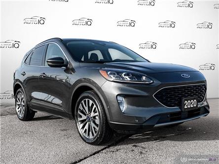 2020 Ford Escape Titanium Hybrid (Stk: P7026A) in St. Thomas - Image 1 of 30