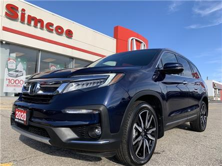 2020 Honda Pilot Touring 7P (Stk: 21033A) in Simcoe - Image 1 of 25