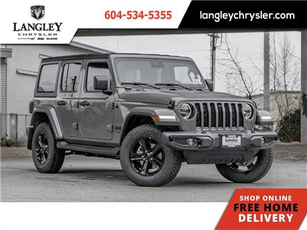 2021 Jeep Wrangler Unlimited Sahara (Stk: M557730) in Surrey - Image 1 of 23