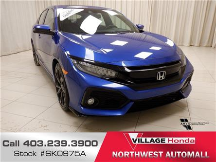 2018 Honda Civic Sport Touring (Stk: SK0975A) in Calgary - Image 1 of 18