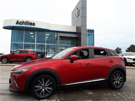 2018 Mazda CX-3 GT (Stk: P6010) in Milton - Image 1 of 16
