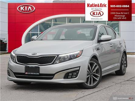 2015 Kia Optima SX Turbo (Stk: FO20138A) in Mississauga - Image 1 of 28