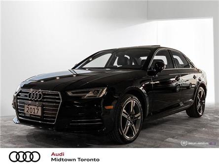 2017 Audi A4 2.0T Technik (Stk: P8652) in Toronto - Image 1 of 22