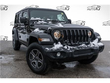 2019 Jeep Wrangler Unlimited Sport (Stk: 34266AU) in Barrie - Image 1 of 22