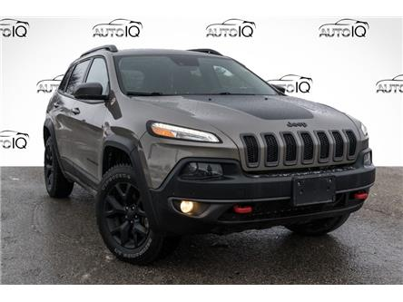 2018 Jeep Cherokee Trailhawk (Stk: 27800U) in Barrie - Image 1 of 27