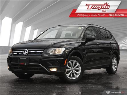 2018 Volkswagen Tiguan Trendline (Stk: 21P077A) in Carleton Place - Image 1 of 25