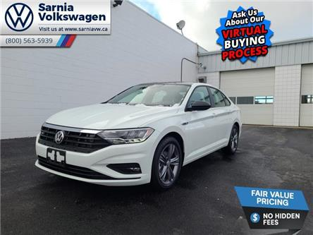 2021 Volkswagen Jetta Highline (Stk: V2132) in Sarnia - Image 1 of 14