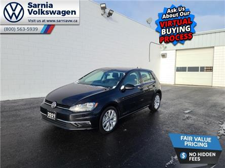 2021 Volkswagen Golf Highline (Stk: V2130) in Sarnia - Image 1 of 14