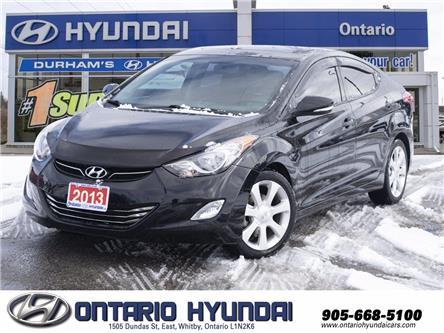 2013 Hyundai Elantra Limited (Stk: 18774N) in Whitby - Image 1 of 18