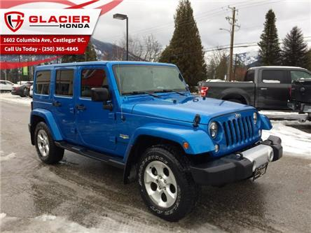 2015 Jeep Wrangler Unlimited Sahara (Stk: R-1939-B) in Castlegar - Image 1 of 28