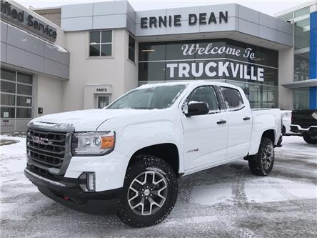 2021 GMC Canyon AT4 w/Leather (Stk: 15627) in Alliston - Image 1 of 23