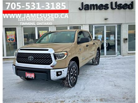 2018 Toyota Tundra SR5 Plus 5.7L V8 (Stk: P02877) in Timmins - Image 1 of 14
