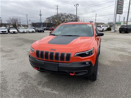 2021 Jeep Cherokee Trailhawk (Stk: N04926) in Chatham - Image 1 of 17