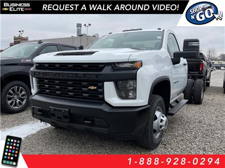 2021 Chevrolet Silverado 3500HD Chassis Work Truck (Stk: 21-0227) in LaSalle - Image 1 of 7