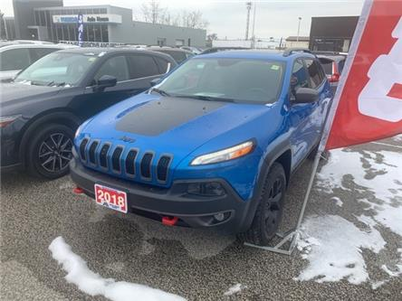 2018 Jeep Cherokee Trailhawk (Stk: M4515) in Sarnia - Image 1 of 9