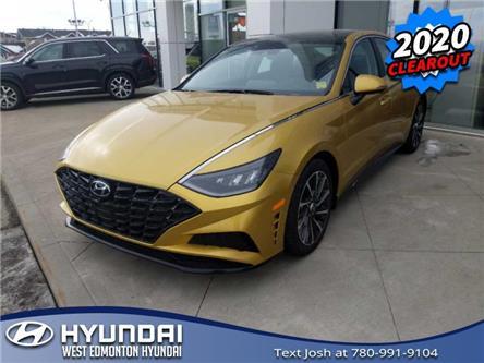 2020 Hyundai Sonata Luxury (Stk: SN05063) in Edmonton - Image 1 of 5