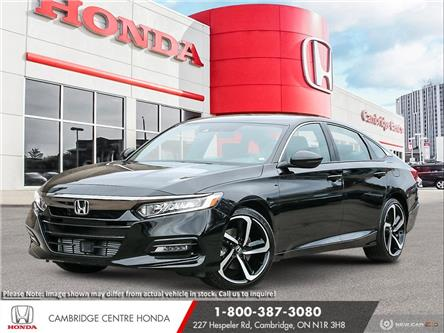 2021 Honda Accord Sport 2.0T (Stk: 21518) in Cambridge - Image 1 of 24