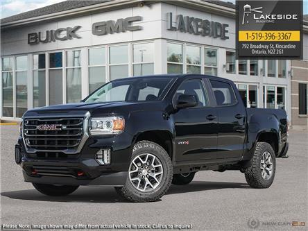 2021 GMC Canyon AT4 w/Cloth (Stk: G1098) in Kincardine - Image 1 of 23