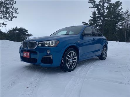 2017 BMW X4 M40i (Stk: 20182) in North Bay - Image 1 of 18
