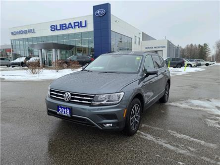 2018 Volkswagen Tiguan Comfortline (Stk: T34757) in RICHMOND HILL - Image 1 of 18
