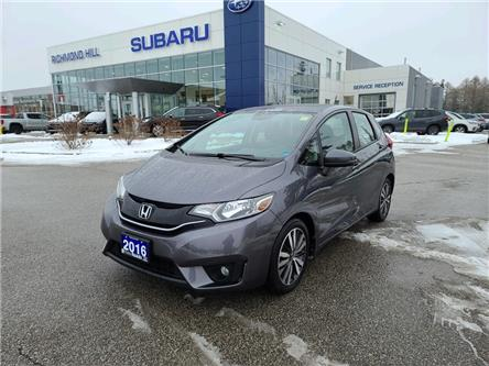 2016 Honda Fit EX-L Navi (Stk: T35621) in RICHMOND HILL - Image 1 of 16