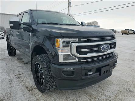 2021 Ford F-350 Platinum (Stk: 21105) in Wilkie - Image 1 of 21