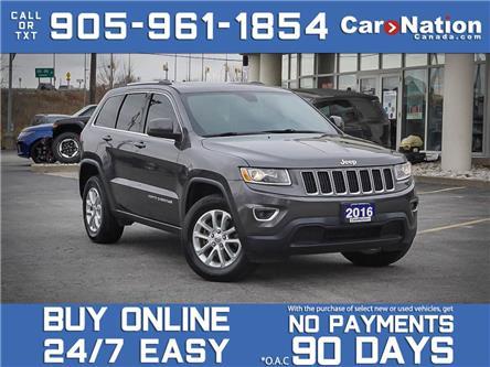 2016 Jeep Grand Cherokee Laredo| 4X4| LEATHER| SUNROOF| LOCAL TRADE| (Stk: M071A) in Burlington - Image 1 of 31