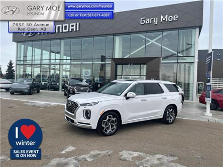 2021 Hyundai Palisade Ultimate Calligraphy (Stk: 1PL0453) in Red Deer - Image 1 of 11