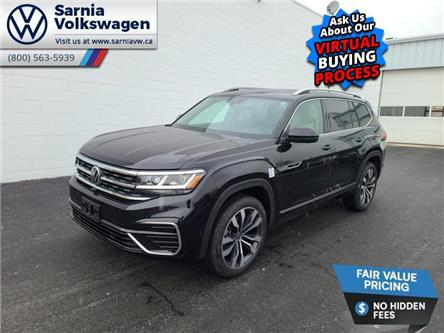 2021 Volkswagen Atlas 3.6 FSI Execline (Stk: V2139) in Sarnia - Image 1 of 14
