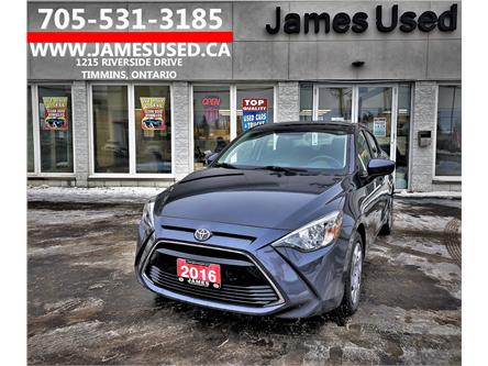 2016 Toyota Yaris Base (Stk: P02859) in Timmins - Image 1 of 14