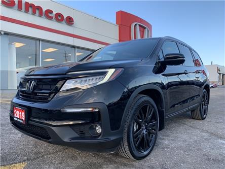 2019 Honda Pilot Black Edition (Stk: SH221) in Simcoe - Image 1 of 24