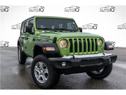 2019 Jeep Wrangler Unlimited Sport (Stk: 34527AU) in Barrie - Image 1 of 10