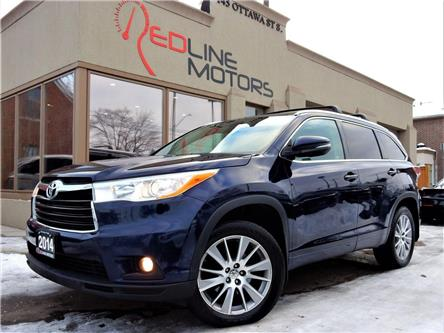 2014 Toyota Highlander  (Stk: 5TDJKR) in Kitchener - Image 1 of 21
