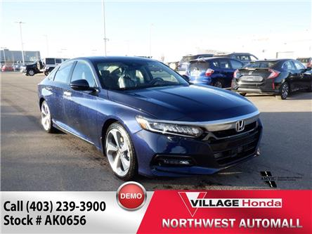 2020 Honda Accord Touring 1.5T (Stk: AK0656) in Calgary - Image 1 of 3