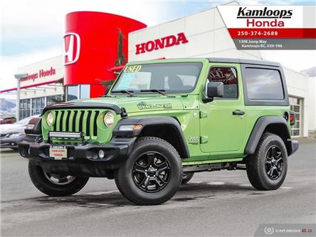 2020 Jeep Wrangler Sport (Stk: 15086D) in Kamloops - Image 1 of 25