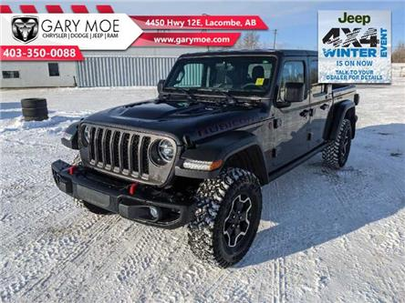 2021 Jeep Gladiator Rubicon (Stk: F212517) in Lacombe - Image 1 of 17