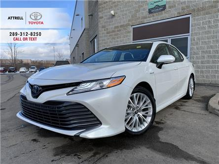 2020 Toyota Camry XLE HYBRID (Stk: 48252) in Brampton - Image 1 of 25