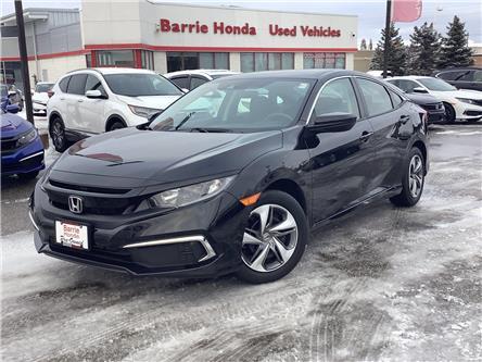 2019 Honda Civic LX (Stk: U19335) in Barrie - Image 1 of 27