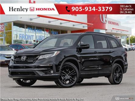 2021 Honda Pilot Black Edition (Stk: H19414) in St. Catharines - Image 1 of 23