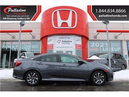 2017 Honda Civic EX (Stk: U9818) in Greater Sudbury - Image 1 of 28