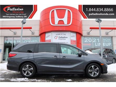 2019 Honda Odyssey EX (Stk: U9831) in Greater Sudbury - Image 1 of 33