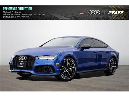 2017 Audi RS 7 4.0T performance (Stk: C8069) in Woodbridge - Image 1 of 22