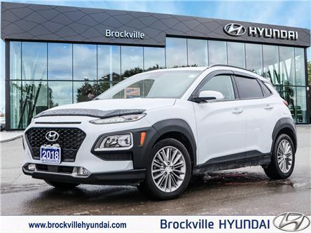2018 Hyundai Kona  (Stk: R21065A) in Brockville - Image 1 of 30
