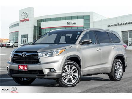2016 Toyota Highlander XLE (Stk: 240524) in Milton - Image 1 of 24