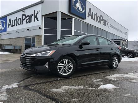 2020 Hyundai Elantra Preferred w/Sun & Safety Package (Stk: 20-01542RJB) in Barrie - Image 1 of 26