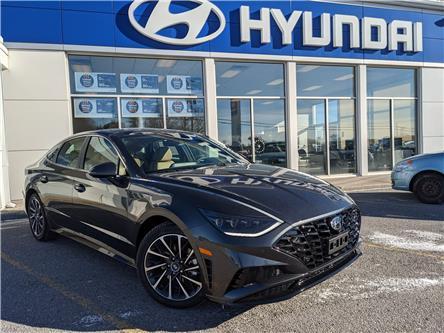 2021 Hyundai Sonata Ultimate (Stk: H12695) in Peterborough - Image 1 of 23